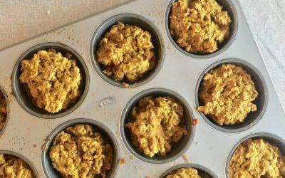 Pumpkin Banana Muffins (gluten-free, dairy-free, nut-free)