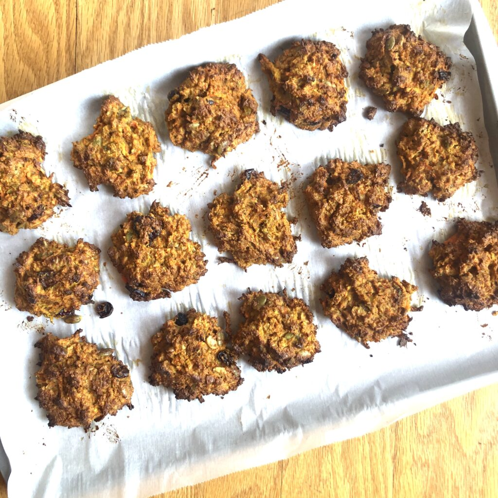 Gluten-Free Morning Glory Cookies