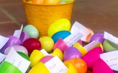 A Clever (And Healthy) Way To Do Easter Egg Hunts with Kids