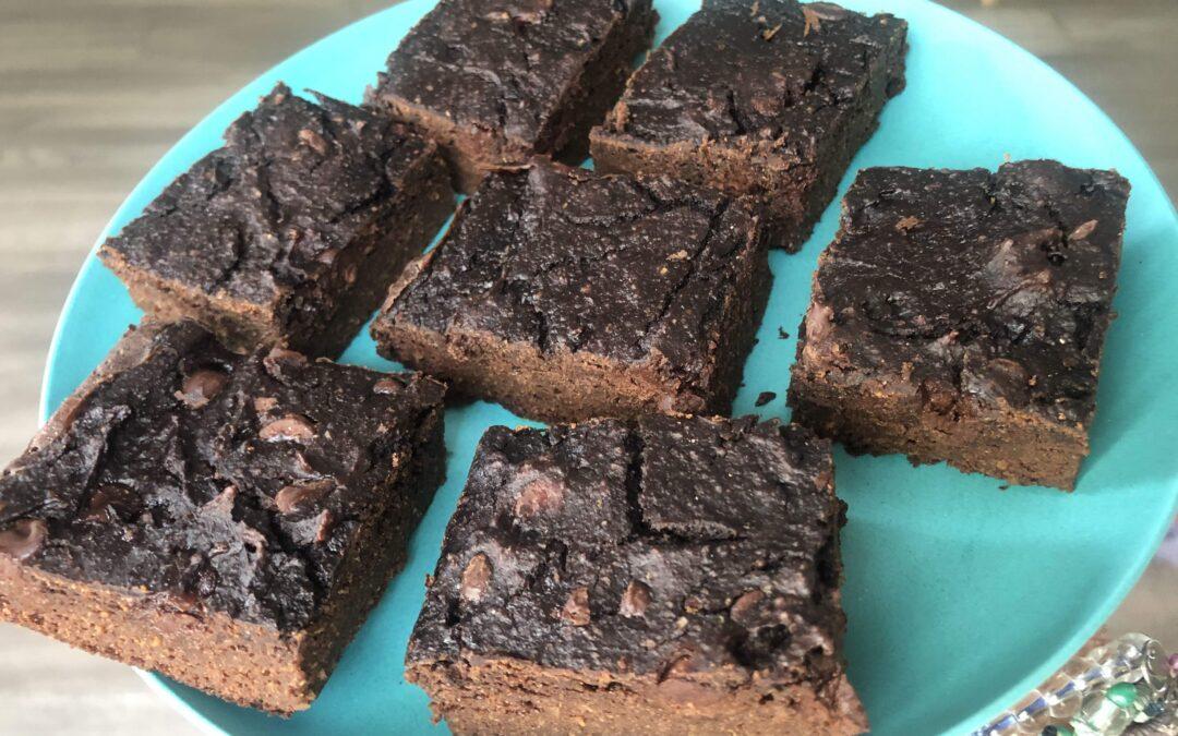 Gluten-Free Healthy Zucchini Brownies
