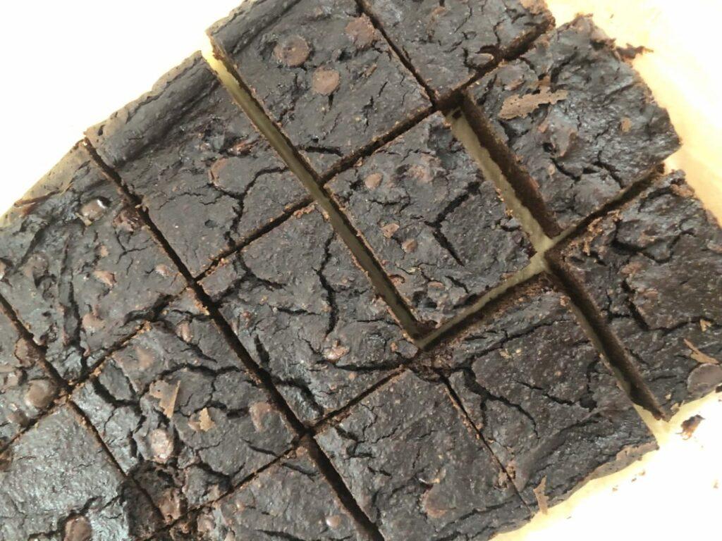 Healthy Gluten-Healthy Gluten-Free Zucchini Brownies