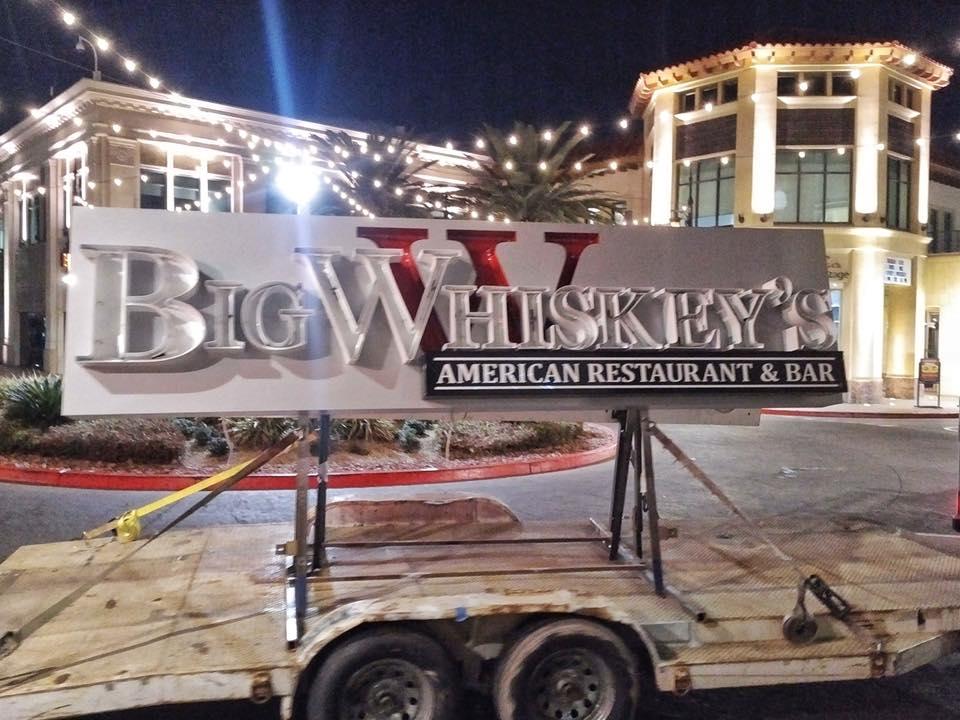 Big Whiskey's Las Vegas Sign