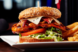 Big Whiskey's Famous Chicken Sandwich