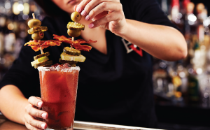 Big Whiskey's Loaded Bloody Mary