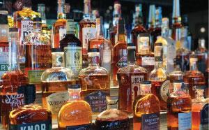 Big Whiskey's Whiskey Wall
