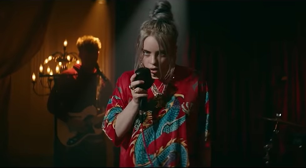 """Billie Eilish Releases Full Video For """"No Time To Die"""""""