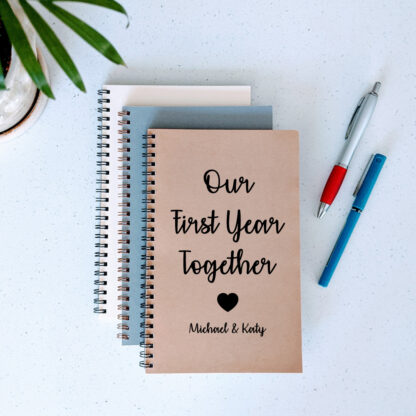 Our First Year Together Notebook