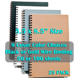 bulk wire bound notebooks 25 pack