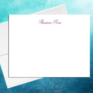 Cursive Note Cards