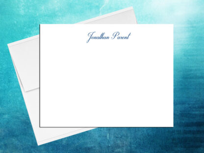 Cursive 3 Note Cards