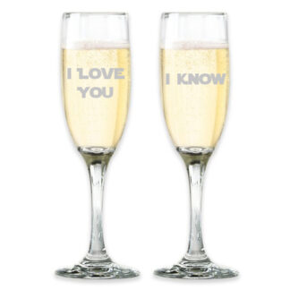 Star Wars Champagne Glasses