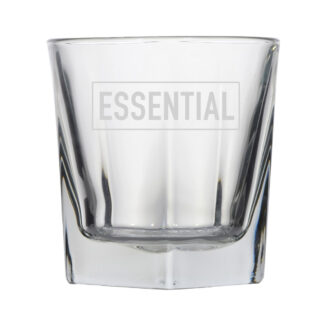 essential rocks whiskey glass