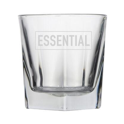 essential rocks whiskey glass