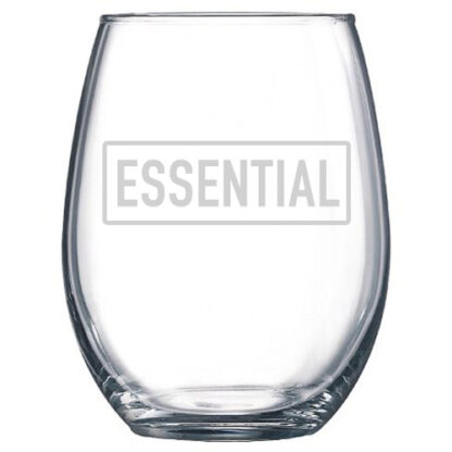 Essentoal Stemless Wine Glass