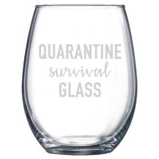 quarantine survival glass