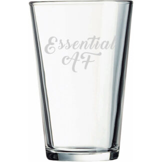 essential af pint glass