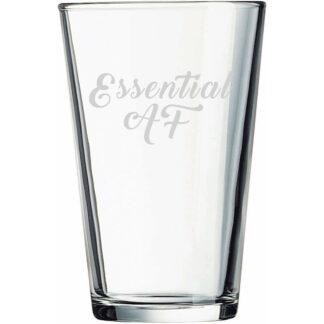 essential af pint glass