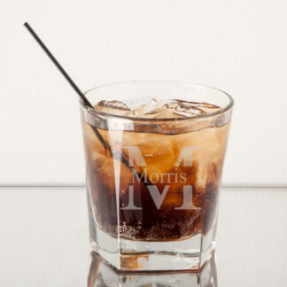 Monogram Rocks Whiskey Glass