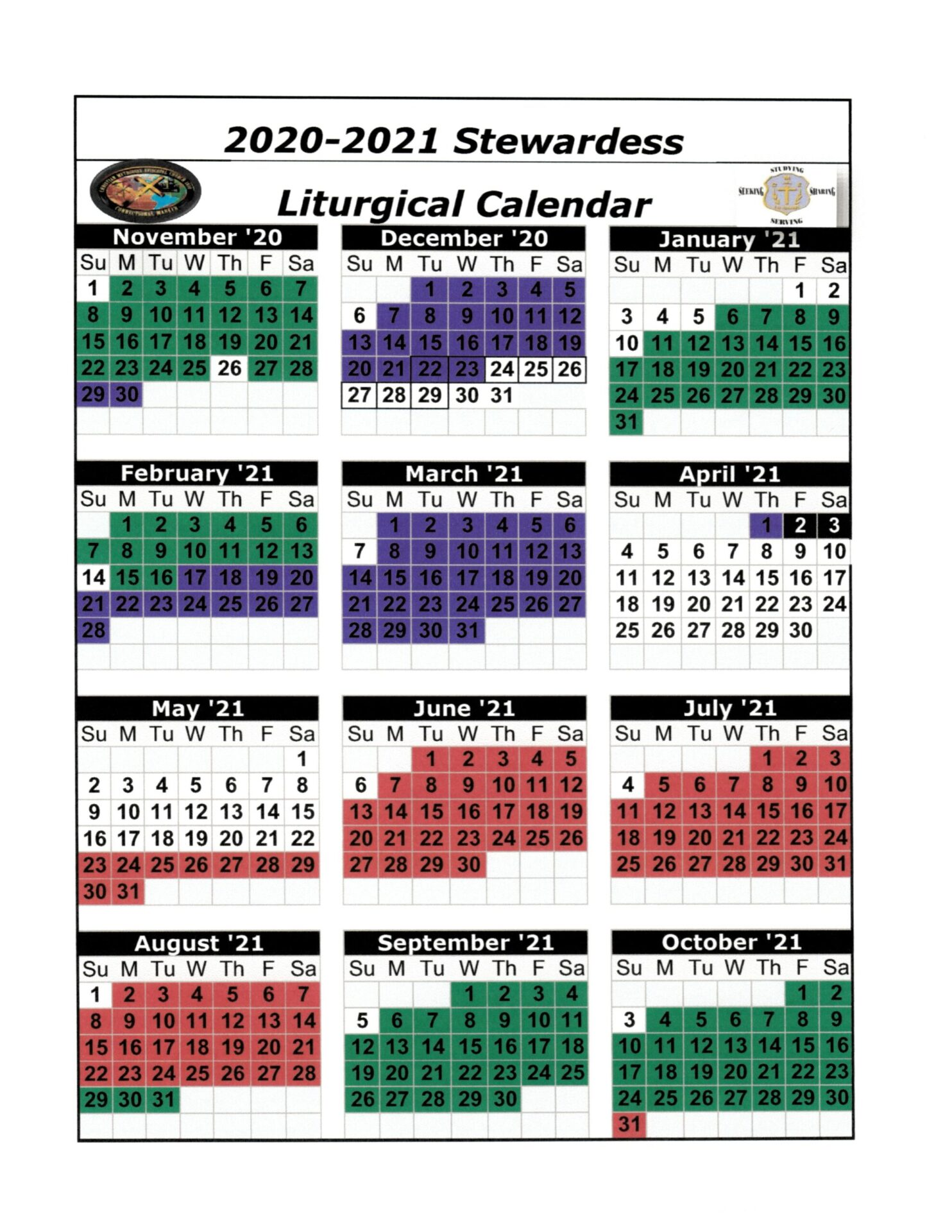 2020-2021 Stewardess Liturgical Calendar_Page_1
