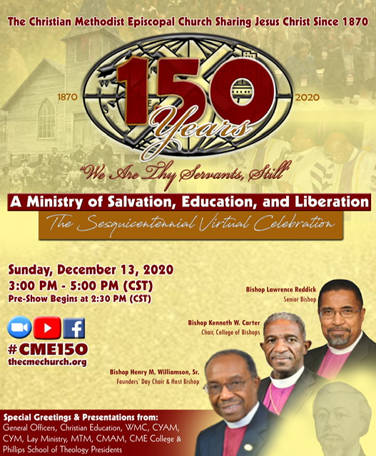 Flyer - CME 150th Celebration