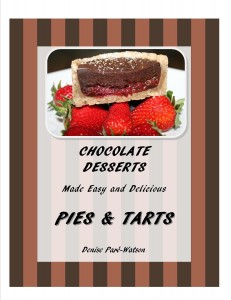 UrbnSpice's Chocolate Desserts - Pies and Tarts