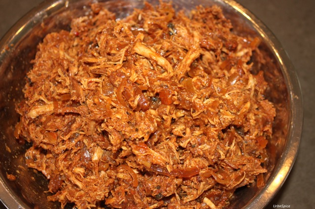Crock Pot Pulled Chicken | urbnspice.com