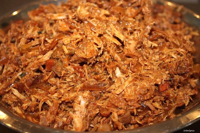 Crock Pot Pulled Chicken | urbnspice.com