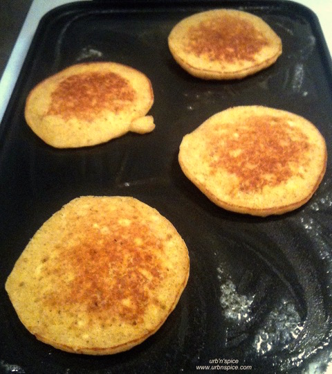 Sweet Potato Pancakes: with gluten free, dairy free, refined sugar free, nut free options