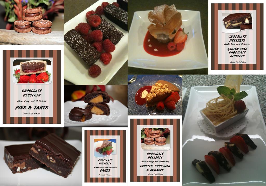 Urb'n'Spice Chocolate Cookbook Series | urbnspice.com