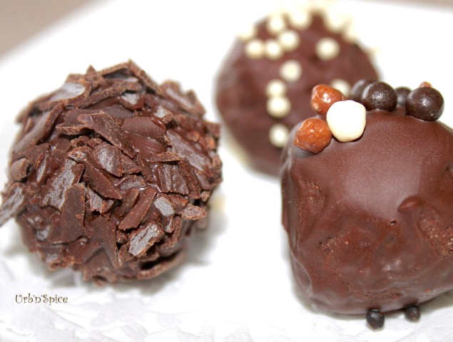 Truffles are easy to make | urbnspice.com