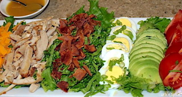 Cobb Salad platter   urbnspice