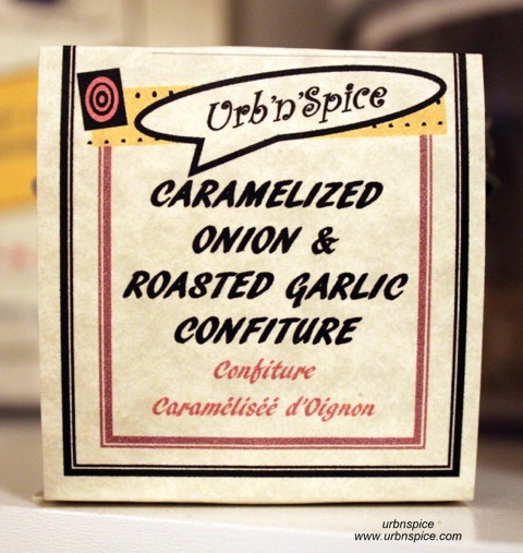 Caramelized Onion and Roasted Garlic Confiture | urbnspice.com