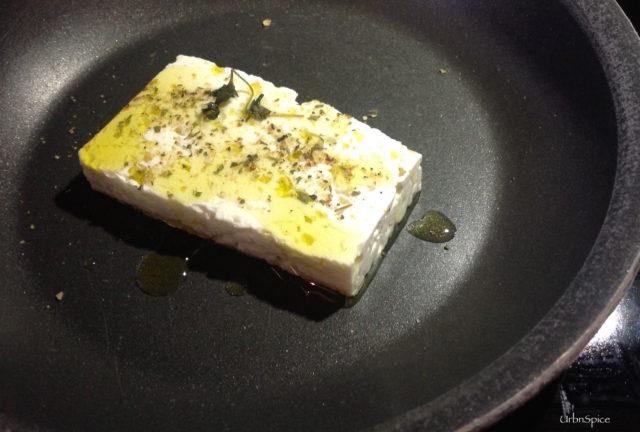 Patio Delights: Warm Feta Appetizer | urbnspice.com