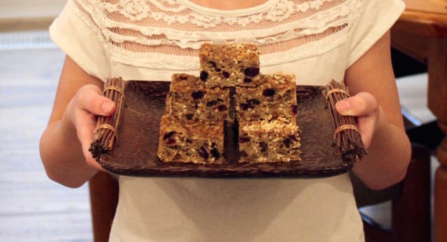 Sunflower Butter Bars | urbnspice.com