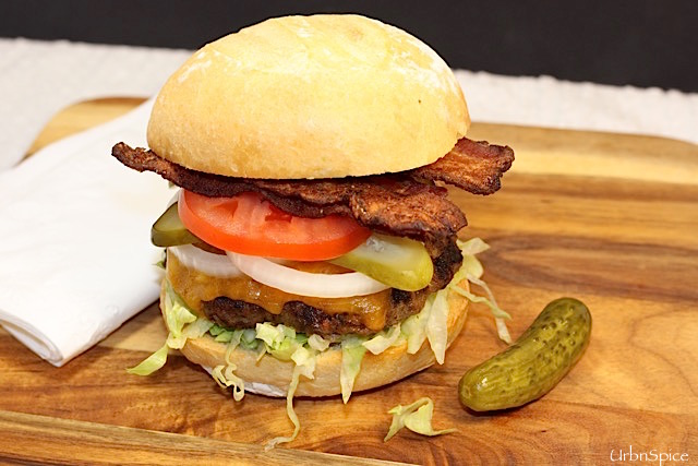 Make It Your Own Burger | urbnspice.com