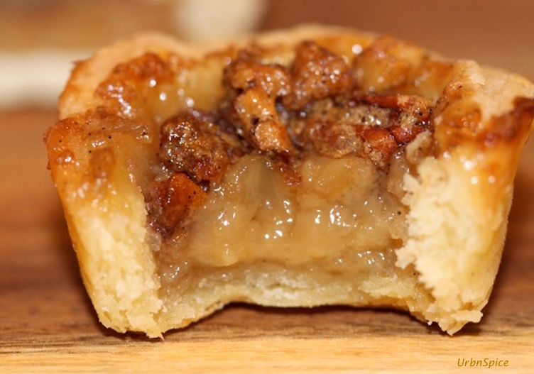 Maple Butter Tartlet with Pecans | urbnspice.com