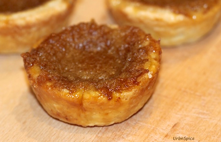 Maple Butter Tart caramelized to perfection | urbnspice.com