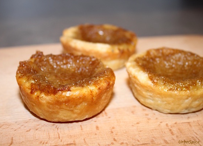 Ultimate Canadian Maple Butter Tarts: Maple Butter Tarts | urbnspice.com