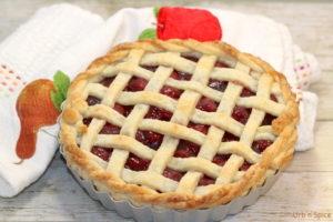 Sour (Tart) Cherry Pie   urbnspice.com