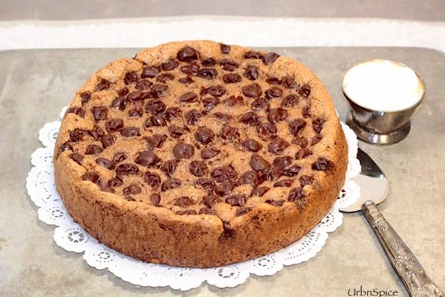 Chocolate Cherry Almond Torte | urbnspice.com
