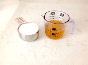 Aquafaba liquid and sugar will make lovely meringues | urbnspice.com