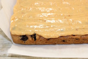 Vintage Spice Cake with Toffee Frosting   urbnspice.com