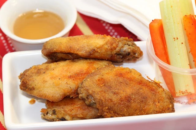 Chicken Wings ready for snacking   urbnspice.com