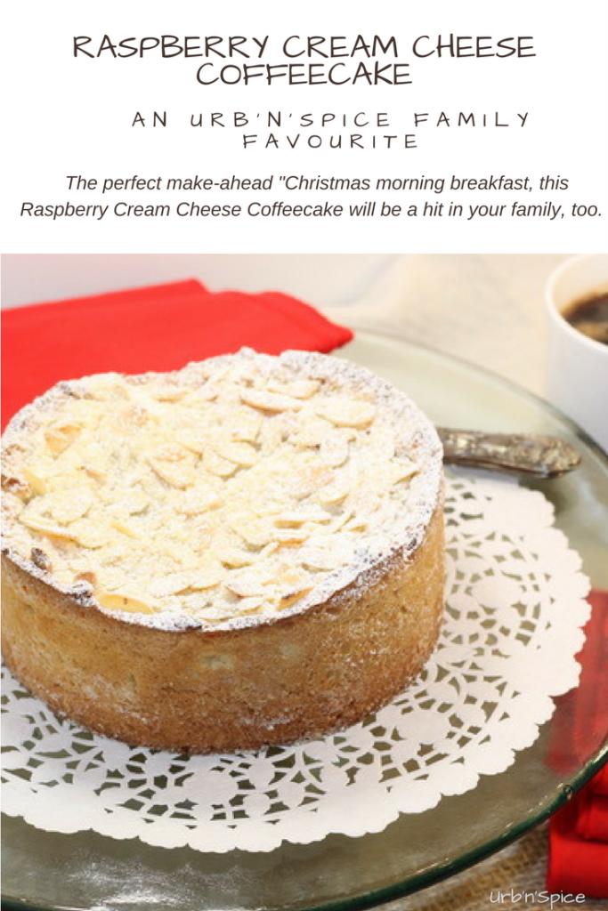 Raspberry Cream Cheese Coffeecake