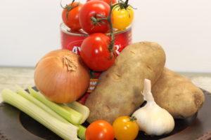 Tomato-Potato Soup Ingredients   urbnspice.com