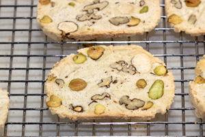 Twice Baked Meringue Cookie Crisps closeup   urbnspice.com