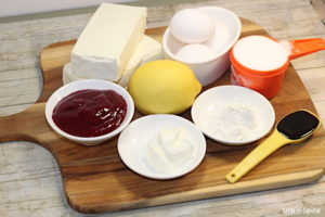 Cheesecake Filling Ingredients | urbnspice.com