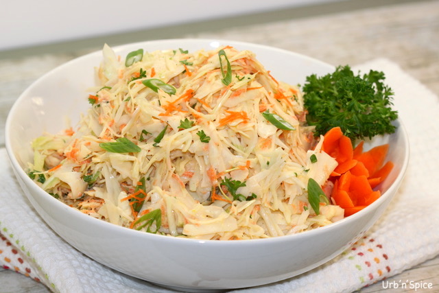 Ultimate Classic Coleslaw | urbnspice.com