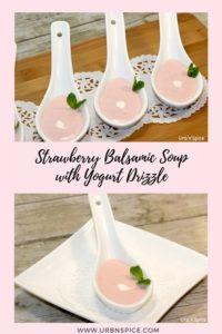 Strawberry Balsamic Soup   urbnspice.com