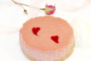 Raspberry Mini Cheesecakes | urbnspice.com